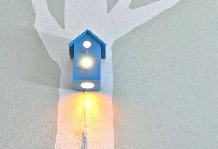 Bird House Night Light By Modern Tree Top Bundlemagic